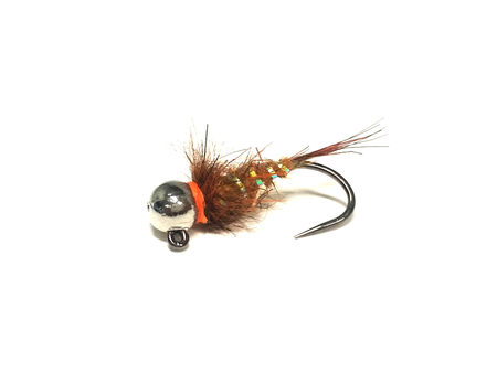 Bead Head Jig Nymph - Rusty Brown