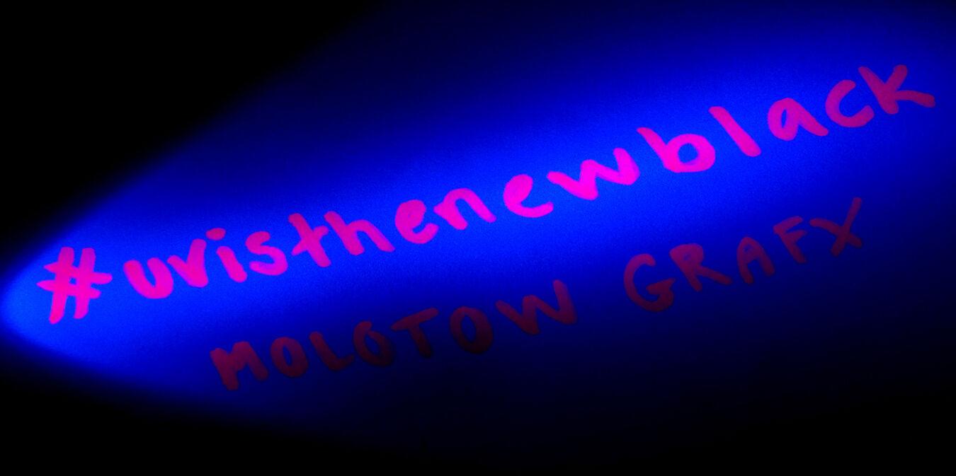 Molotow GRAFX UV- Fluorescent Markers | Spey Clave Helsinki