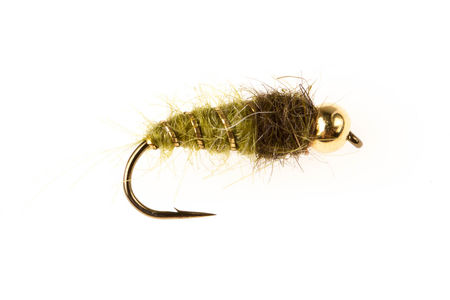 Bead Head SL Pupa - Green