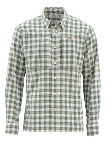 Simms Bugstopper Shirt - Kelp Plaid