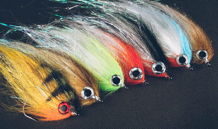 H.S.C. Synthetic Pike Flies