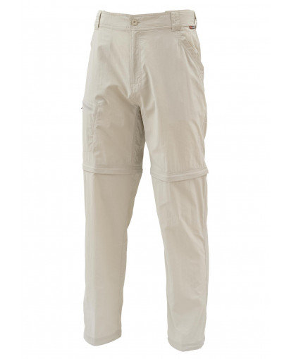 Simms Superlight Zip-Off Pants - Oyster