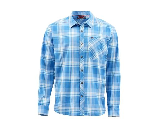 Simms Outpost Shirt - Pacific Plaid