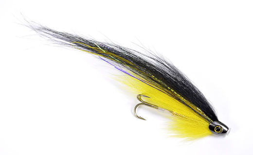Guideline Black&Yellow ScullRay - Tube Fly