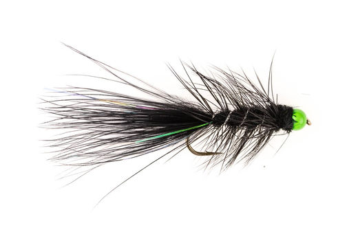 Black Leech - Green Bead
