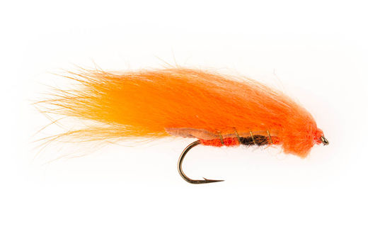 Orange Zonker Streamer