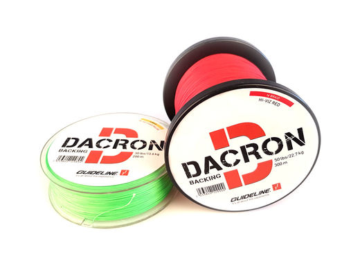 Guideline Braided Dacron Backing - Big Spools
