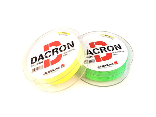 Guideline Braided Dacron Backing - Small Spools