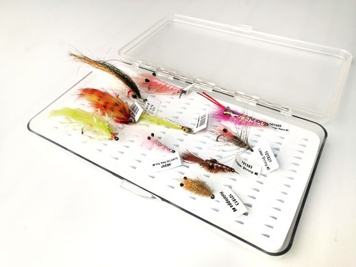 H.S.C. Sea Trout Fly Kit - 10 Flies