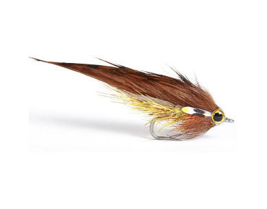 Midi Zonker Streamer - Golden Brown