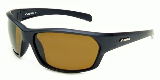 Brown Lens / Matt Black Frame