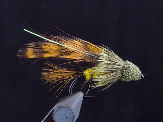 Spuddler Streamer - Yellow