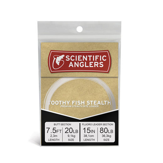 Scientific Anglers Toothy Stealth Leader