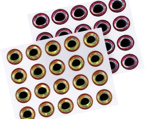 Ultra 3D Epoxy Eyes -  6mm