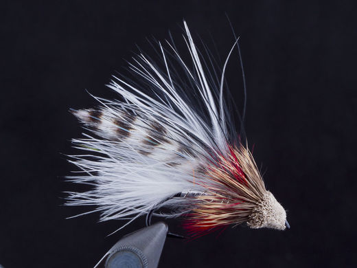 White Marabou Muddler Streamer